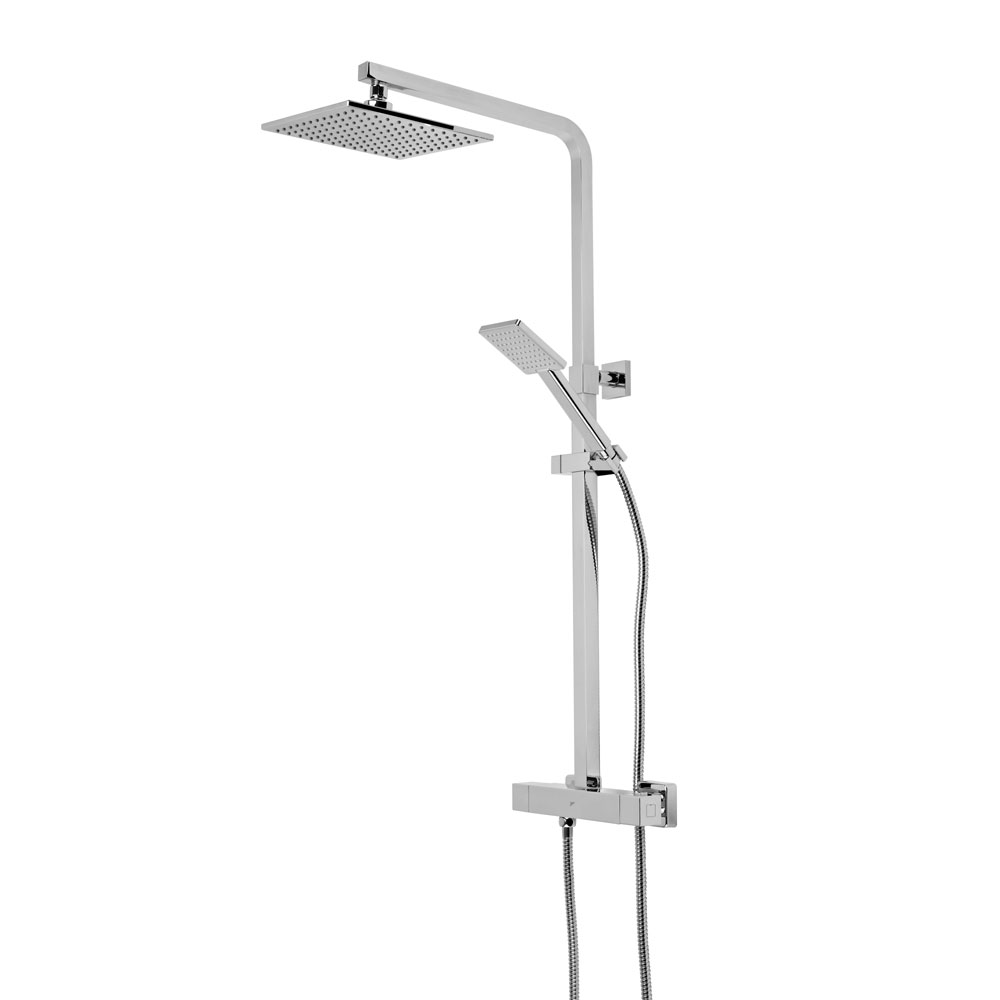 Roper Rhodes Event Square Exposed Dual Function Diverter Shower System - SVSET31 profile large image view 1