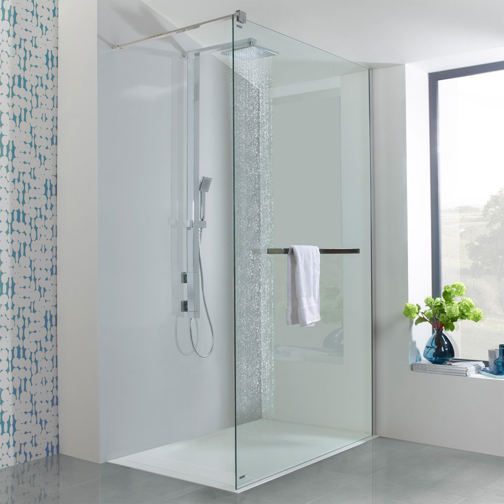 Roper Rhodes Column Exposed Dual Function Vertical Bar Valve Shower System - SVSET34 profile large image view 2