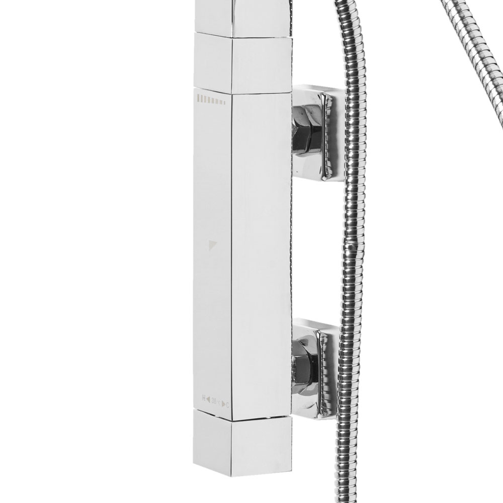 Roper Rhodes Column Exposed Dual Function Vertical Bar Valve Shower System - SVSET34 profile large image view 3