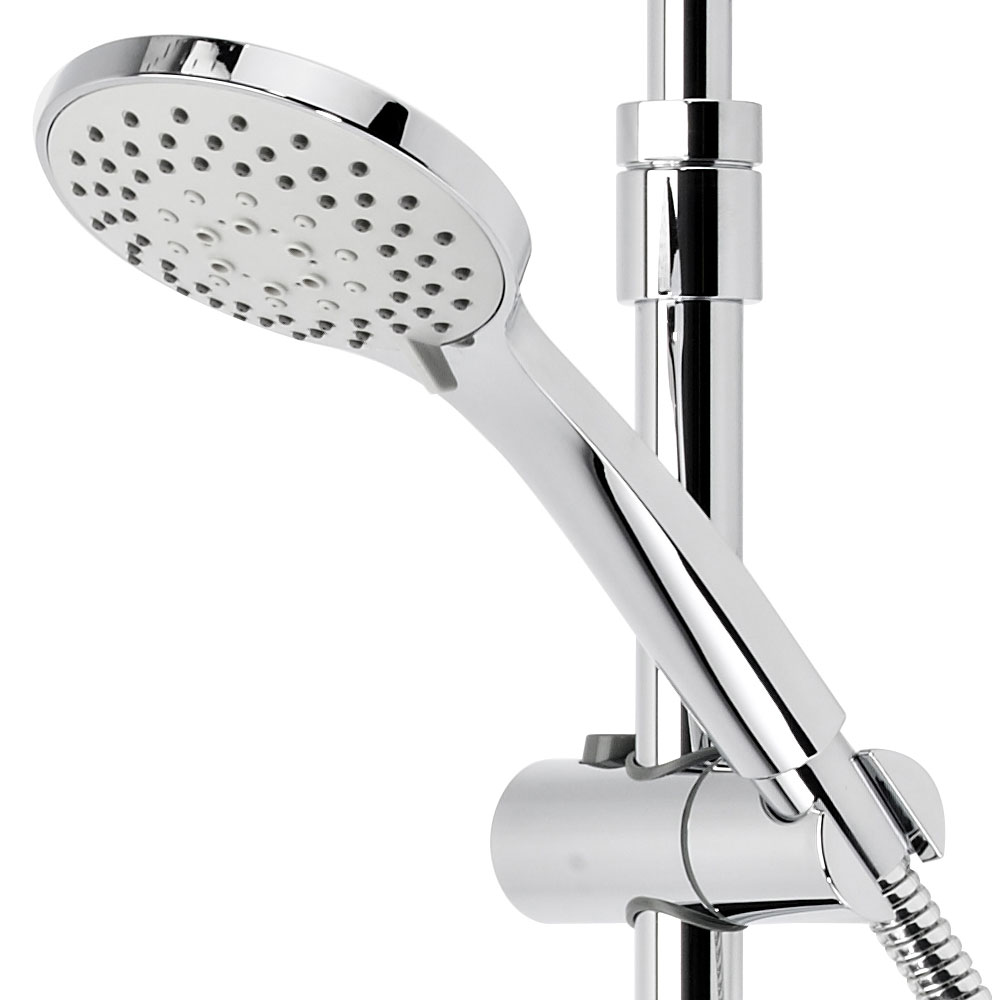 Roper Rhodes Storm Exposed Dual Function Shower System with Accessory Shelf - SVSET37 profile large image view 4