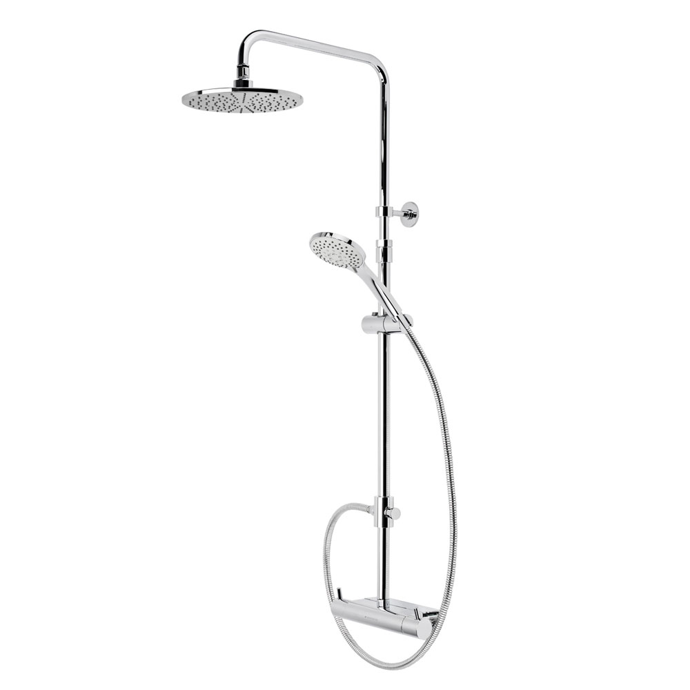 Roper Rhodes Storm Exposed Dual Function Shower System with Accessory Shelf - SVSET37 Large Image