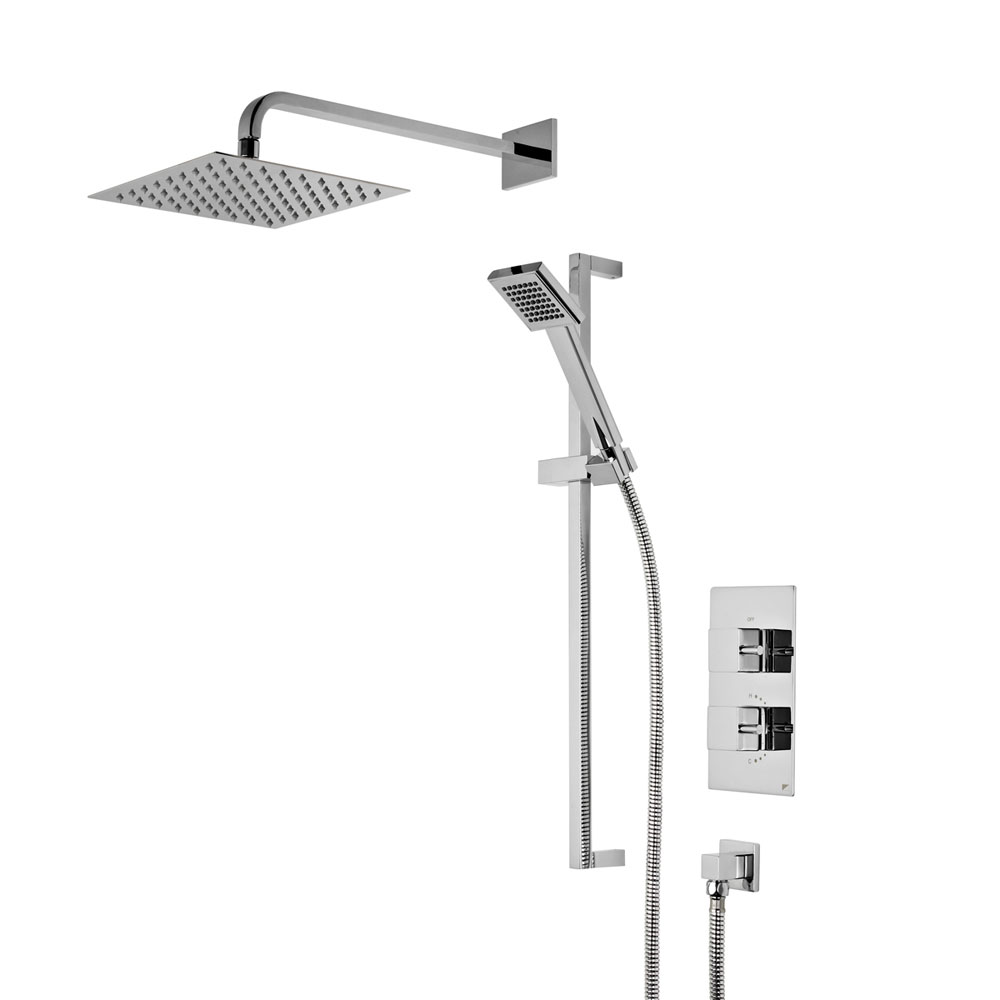 Roper Rhodes Event Square Concealed Dual Function Shower System - SVSET41 profile large image view 1