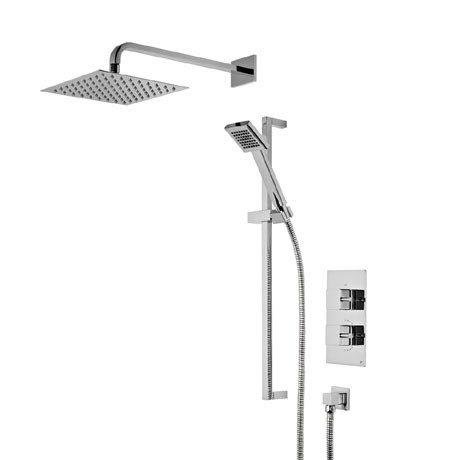 Roper Rhodes Event Square Concealed Dual Function Shower System - SVSET41