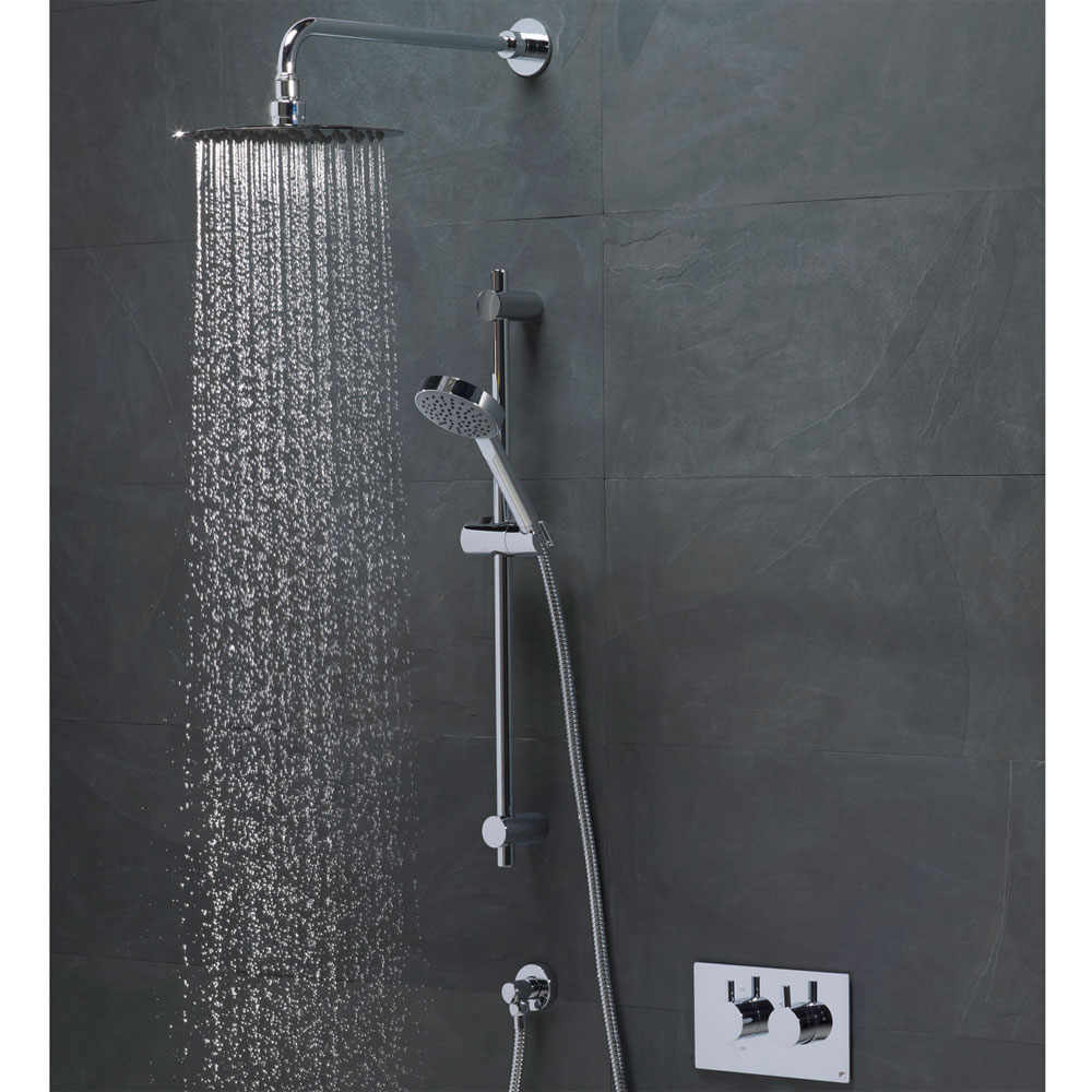 Roper Rhodes Event Round Concealed Dual Function Shower System - SVSET42 profile large image view 2