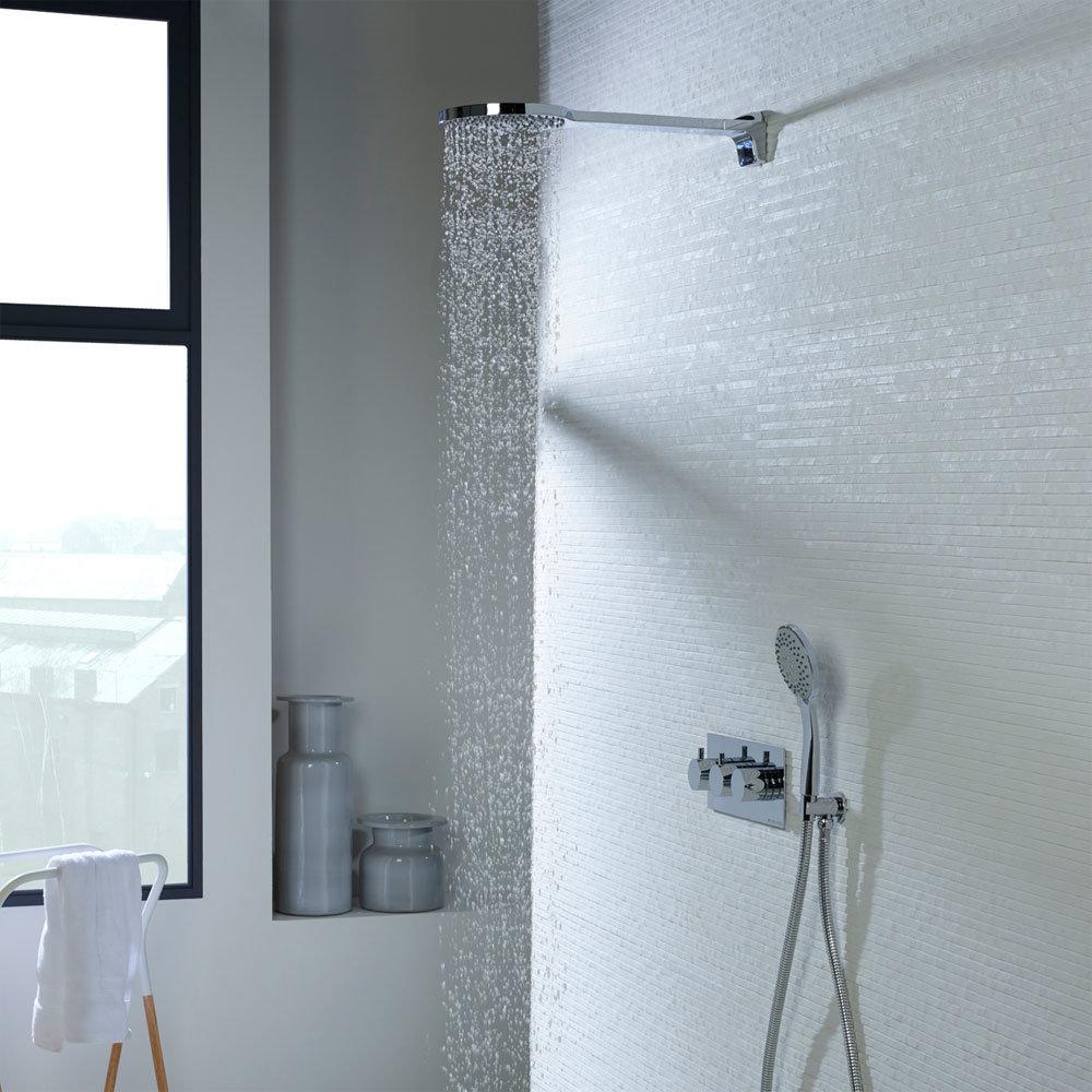 Roper Rhodes Storm Concealed Dual Function Shower System - SVSET43 profile large image view 2