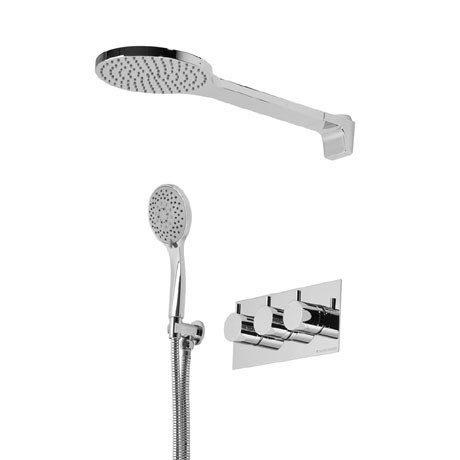 Roper Rhodes Storm Concealed Dual Function Shower System - SVSET43