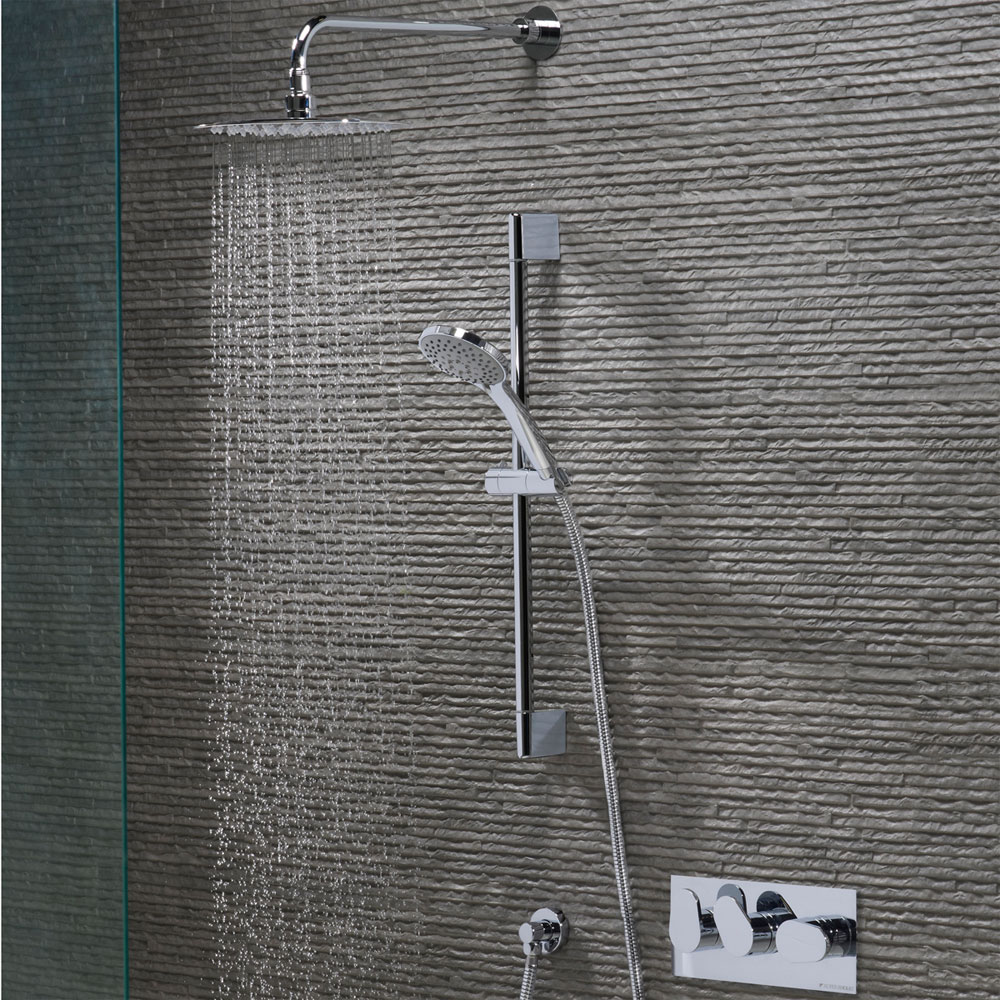 Roper Rhodes Stream Concealed Dual Function Shower System - SVSET46 profile large image view 2