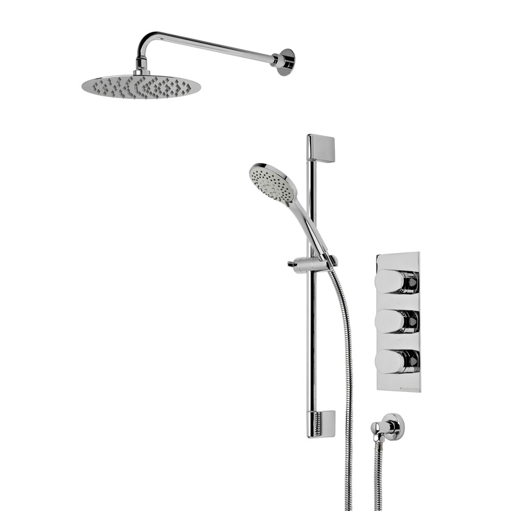 Roper Rhodes Stream Concealed Dual Function Shower System - SVSET46 profile large image view 1