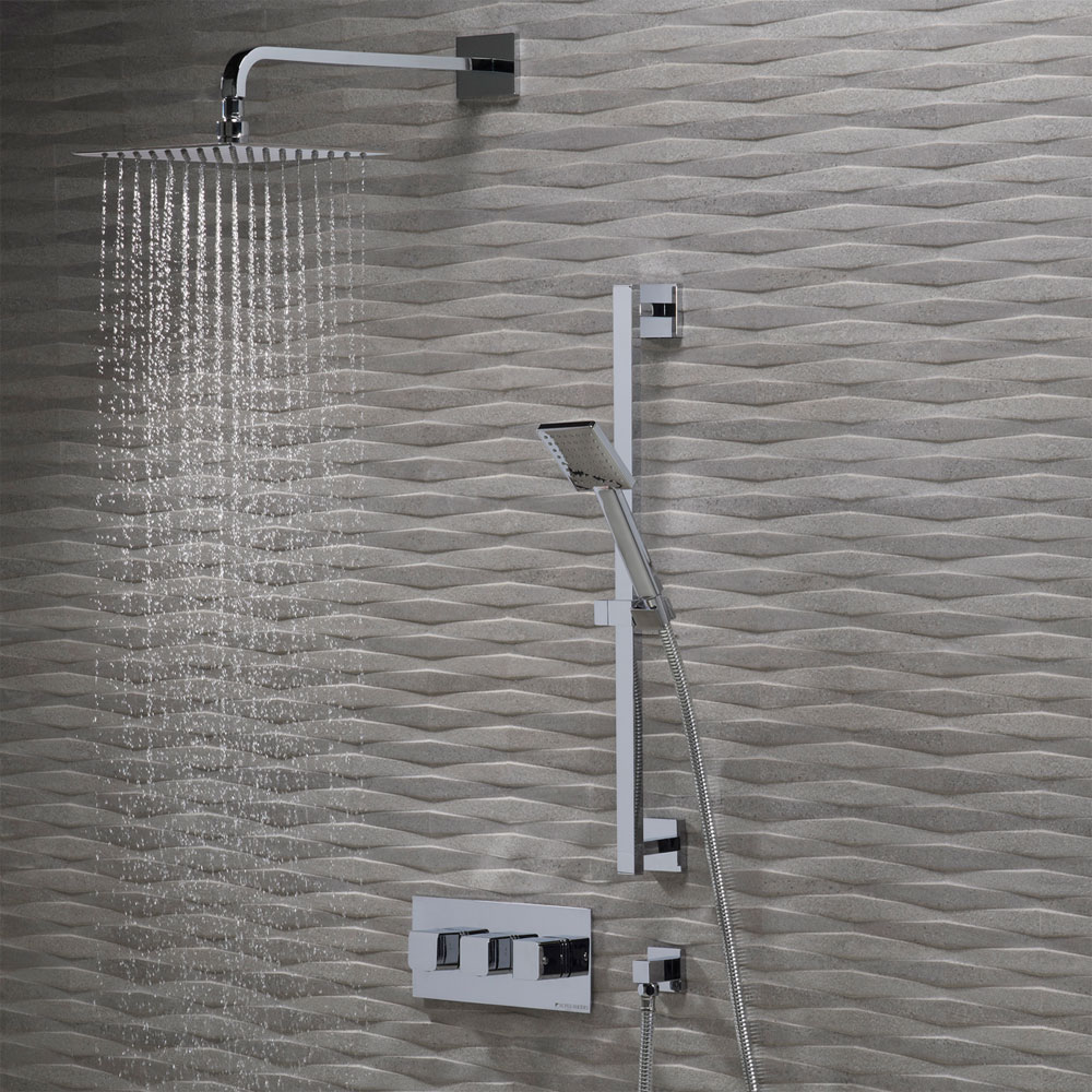 Roper Rhodes Hydra Concealed Dual Function Shower System - SVSET47 profile large image view 2