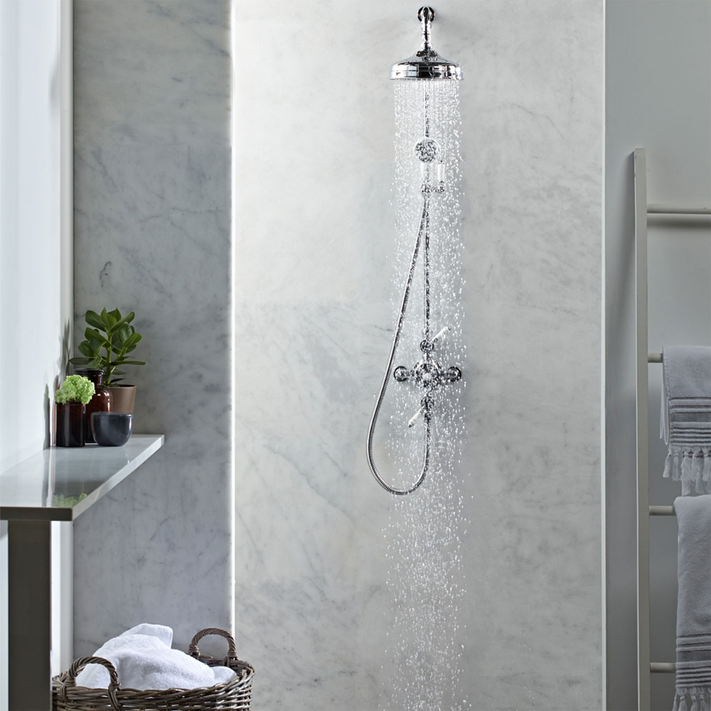 Roper Rhodes Henley Dual Function Exposed Shower System - SVSET50 Profile Large Image