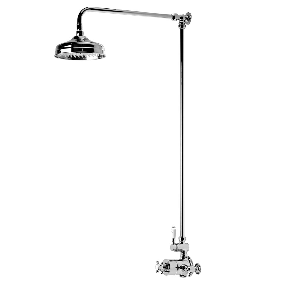 Roper Rhodes Henley Single Function Exposed Shower System - SVSET51 Large Image