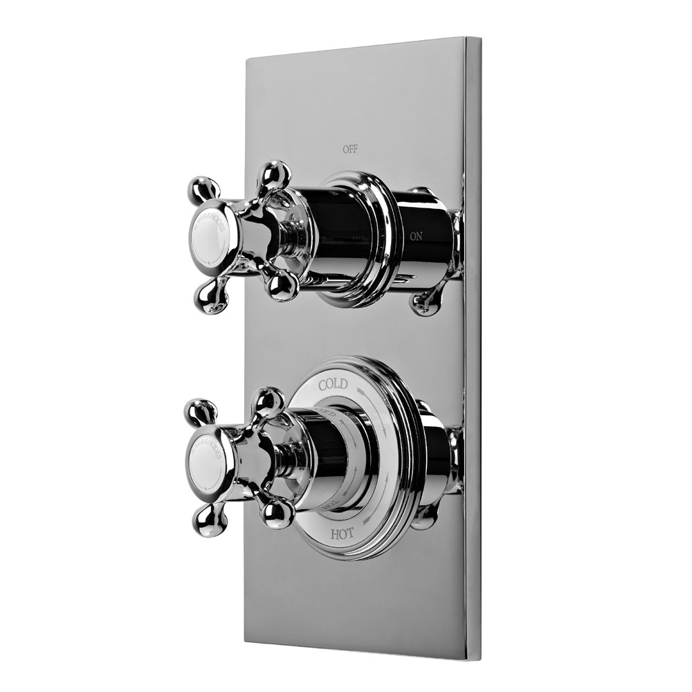 Roper Rhodes Henley Dual Function Concealed Shower System - SVSET52 profile large image view 3