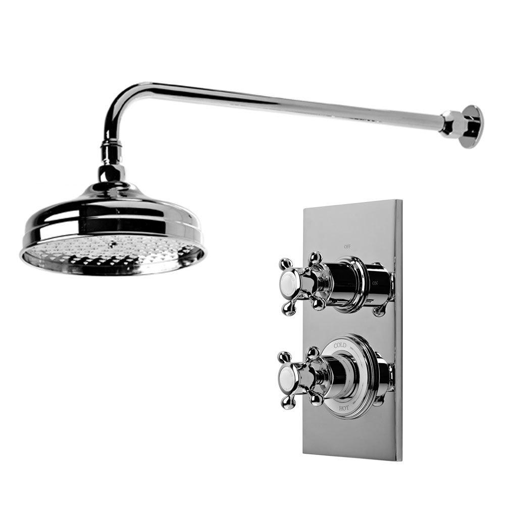 Roper Rhodes Henley Single Function Concealed Shower System - SVSET53 Large Image