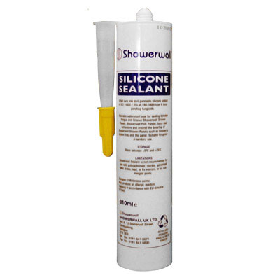 310ml Showerwall Sealant - White or Clear Option Large Image