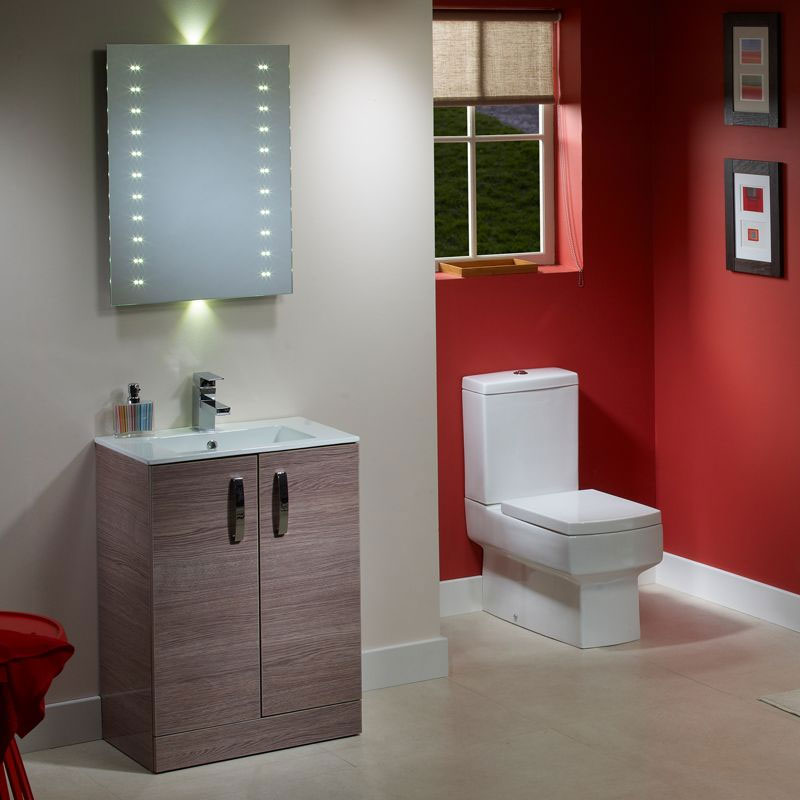 Tavistock Swift 600mm Freestanding Unit & Basin - Montana Gloss profile large image view 2