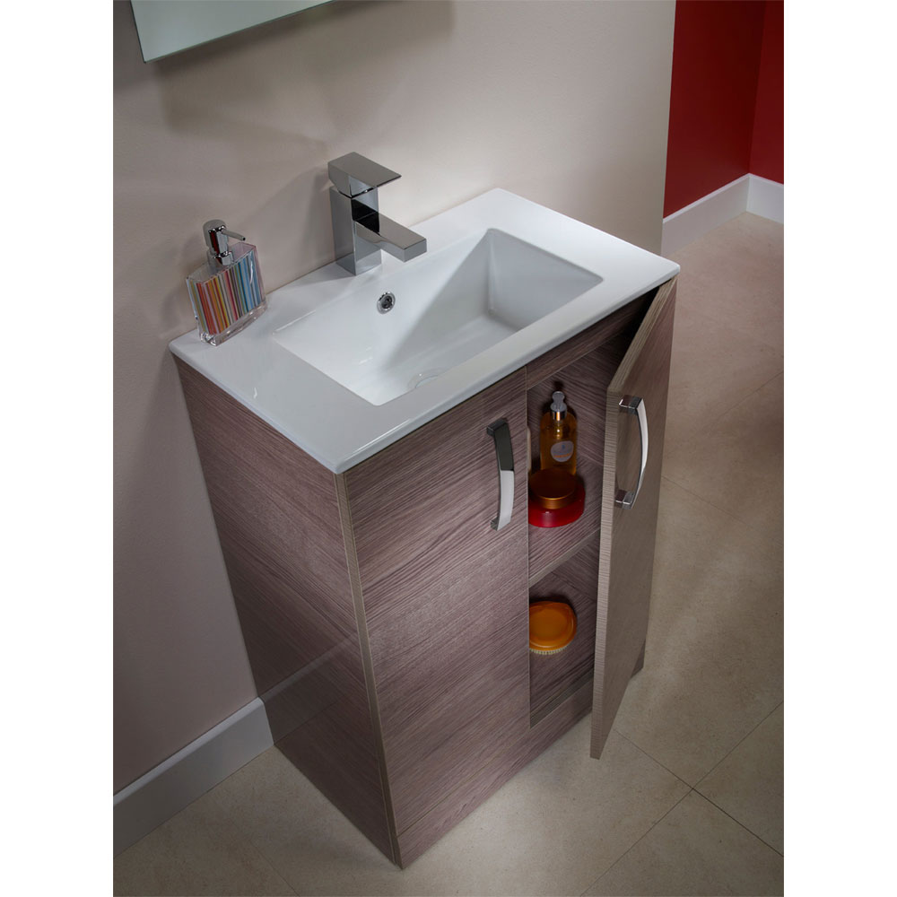 Tavistock Swift 600mm Freestanding Unit & Basin - Montana Gloss profile large image view 3