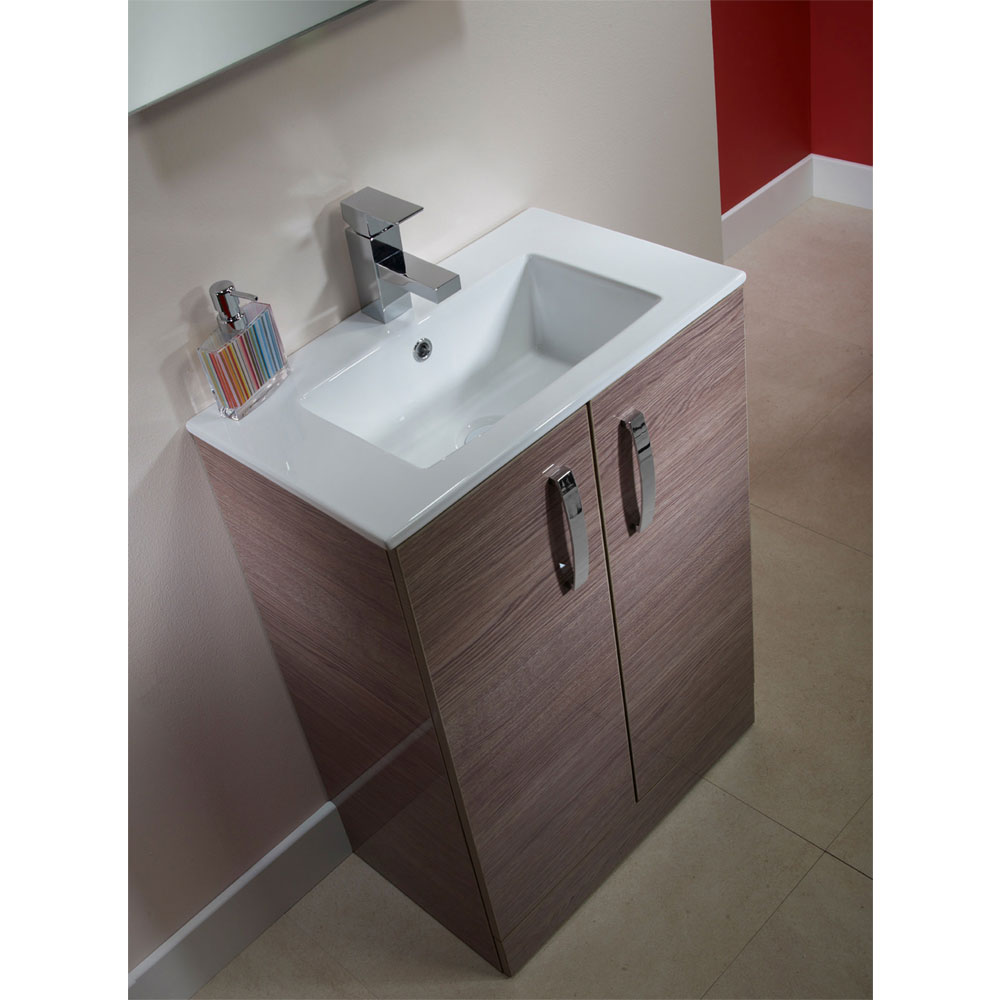 Tavistock Swift 600mm Freestanding Unit & Basin - Montana Gloss profile large image view 4