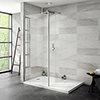 Nova 1400 x 900 Wet Room (800mm Screen, Return Panel + Tray) Small Image