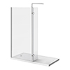 Nova 1600 x 800 Wet Room (900mm Screen, Return Panel + Tray) profile small image view 1