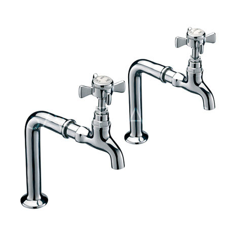 Sagittarius - Churchmans Bib Taps and Stands - Chrome - CH/155/C