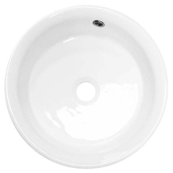 Sahara Round Counter Top Basin 0TH - 405mm Diameter profile large image view 2