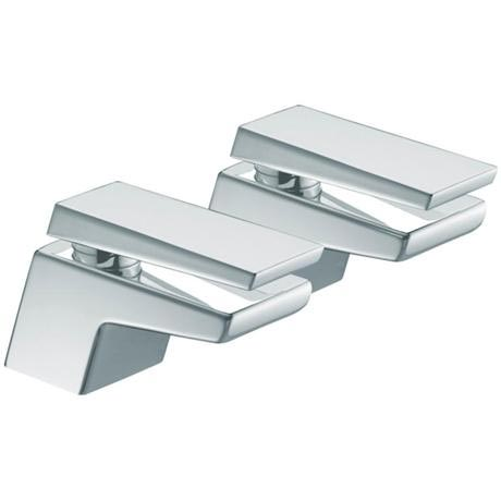 Bristan - Sail Contemporary Basin Taps - Chrome - SAI-1/2-C