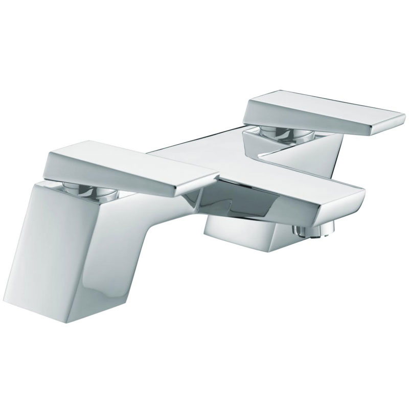 Bristan - Sail Contemporary Bath Filler - Chrome - SAI-BF-C Large Image