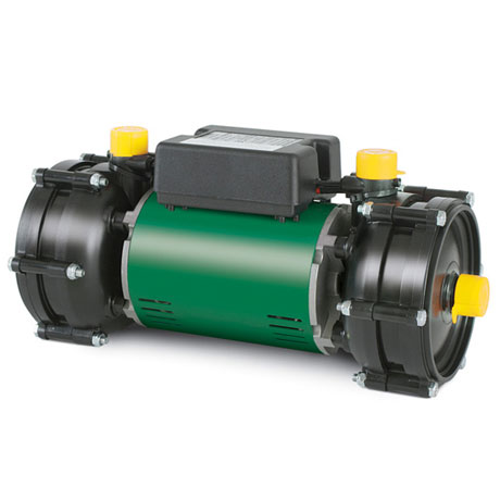 Salamander RHP75 Twin Impeller Centrifugal Positive Head Shower Pump