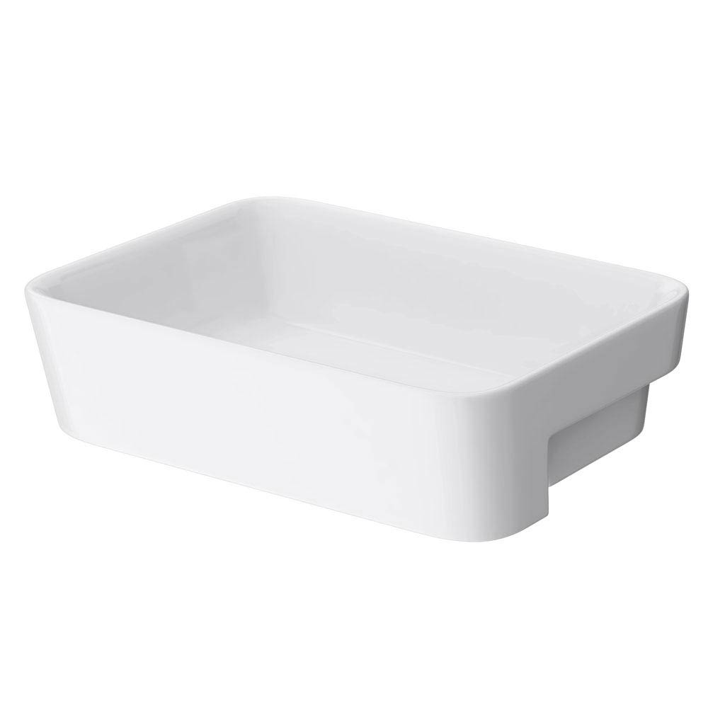 Salou Semi Recessed Basin 0TH - 480 x 370mm profile large image view 4