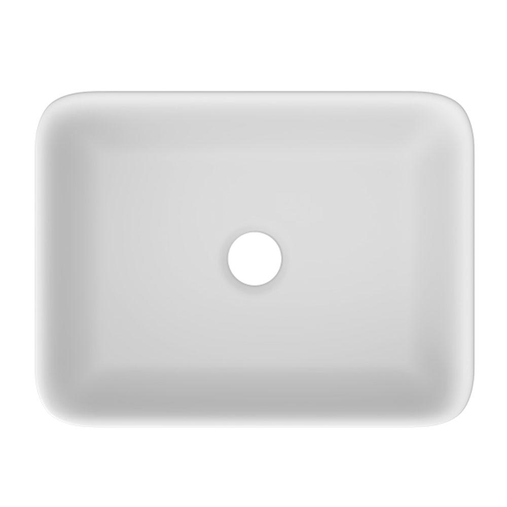 Salou Semi Recessed Basin 0TH - 480 x 370mm profile large image view 2