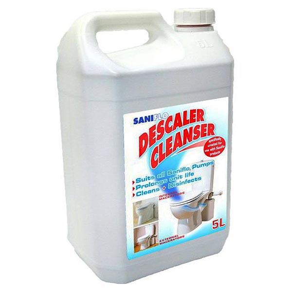 Saniflo Descaler Cleanser 5 Litres Large Image