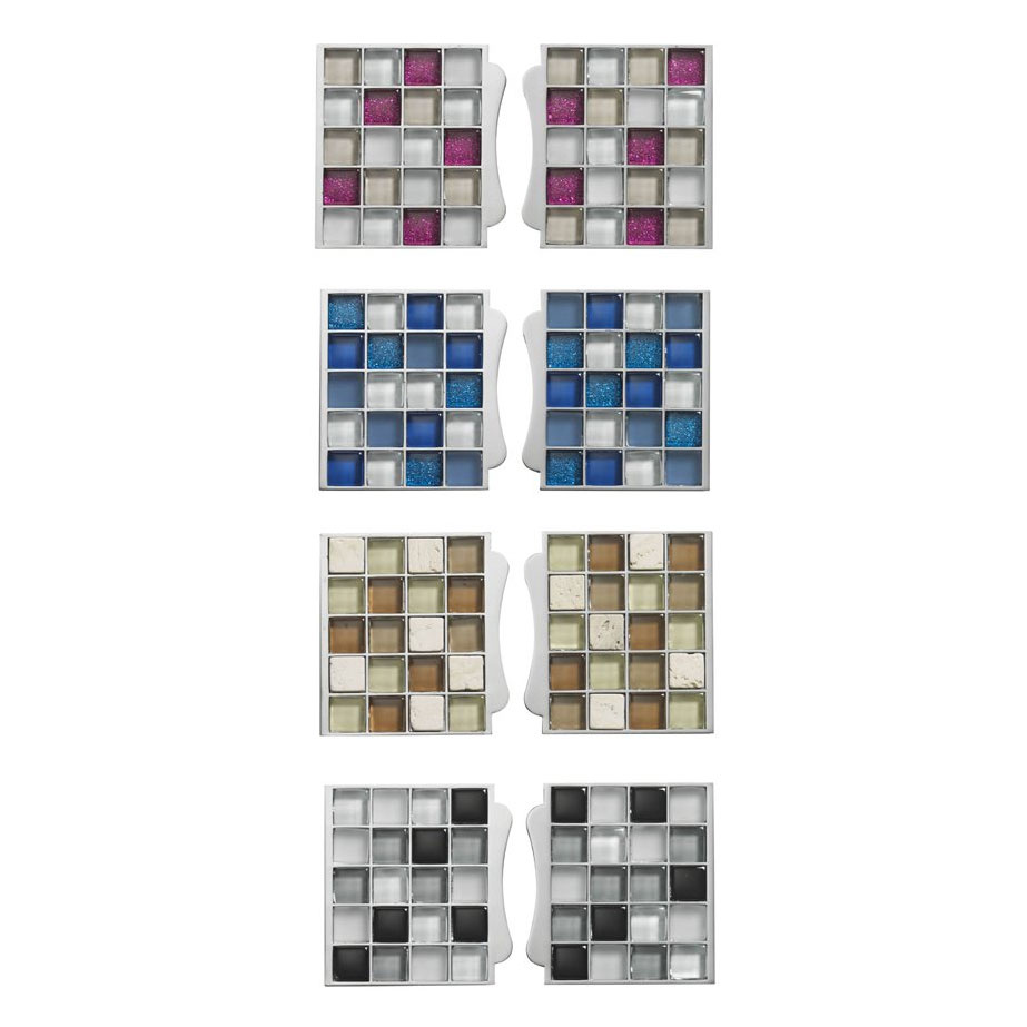 Aqualisa - Sassi Electric Shower Mosaic Tile Inlays - Various Colour Options Large Image