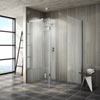 Saturn 8mm Walk In Shower Enclosure - 1400 x 900mm profile small image view 1