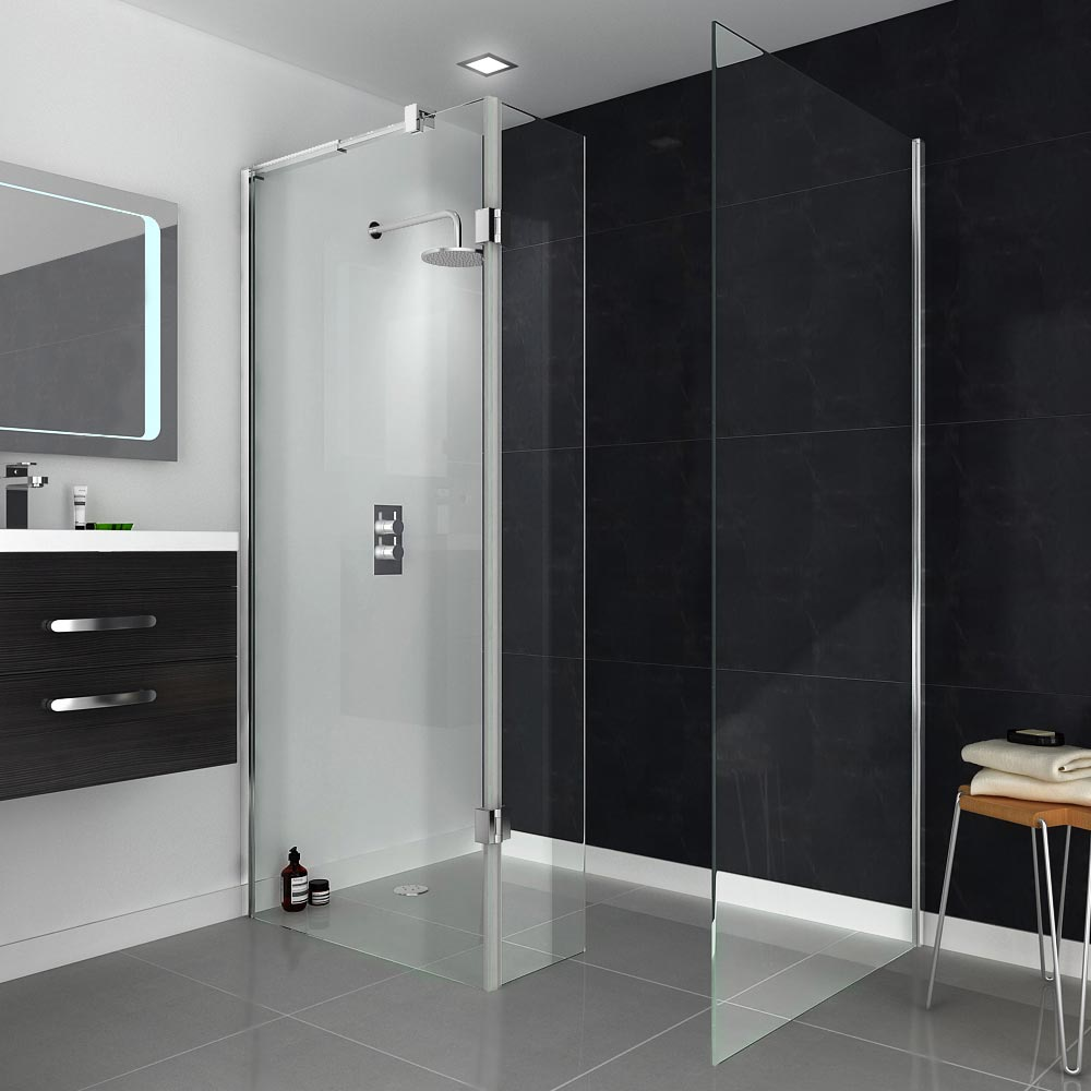 Saturn Walk-In Shower Enclosure