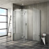 Saturn 8mm Walk In Shower Enclosure (No Tray) - 1700 x 800mm profile small image view 1