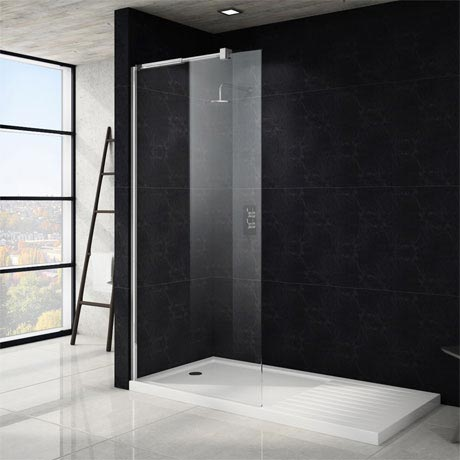Saturn Wet Room Screen - Various Sizes (1850mm High)