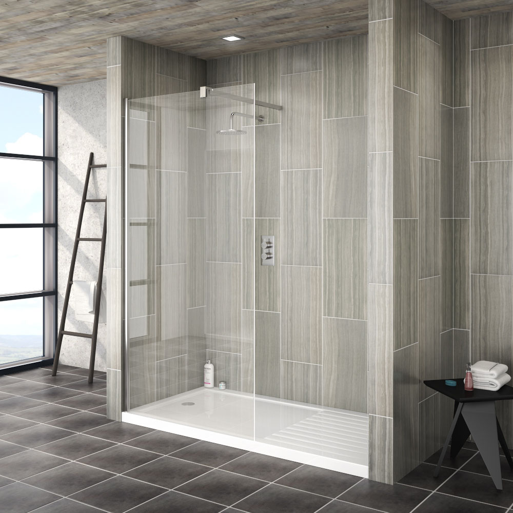 Saturn 1850mm Wet Room Screen Various Sizes At Victorian