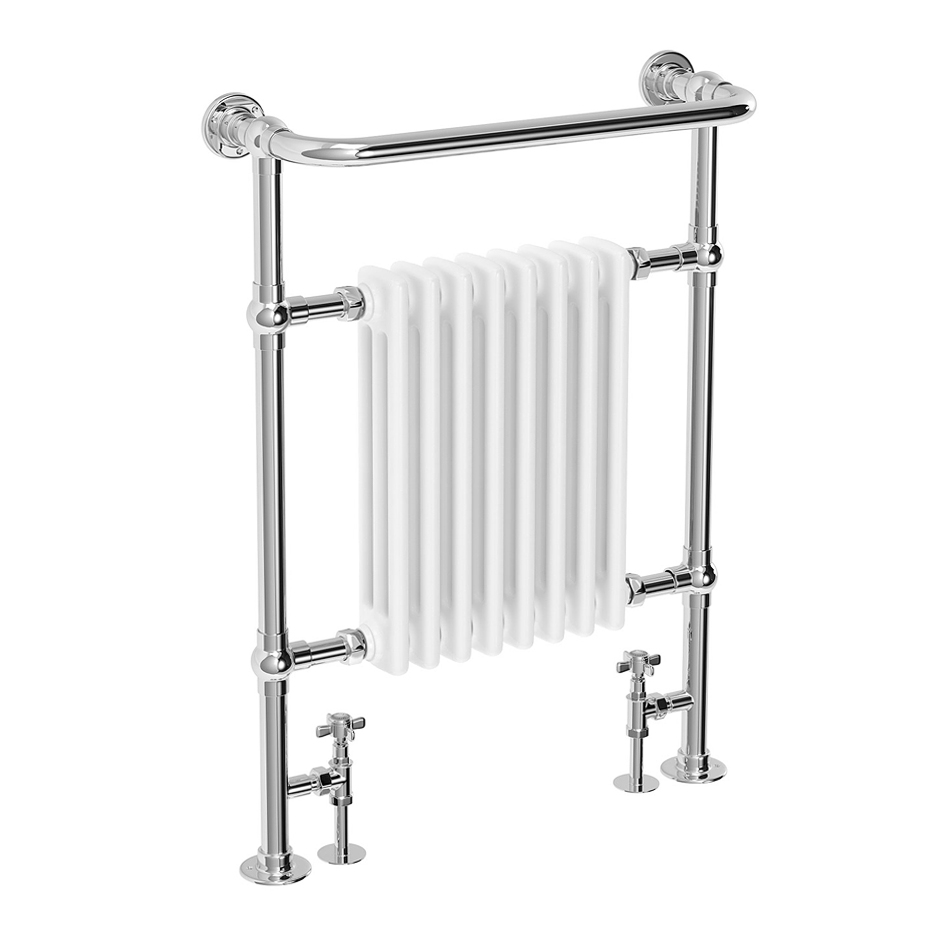 Savoy Traditional Heated Towel Rail Radiator Medium Image