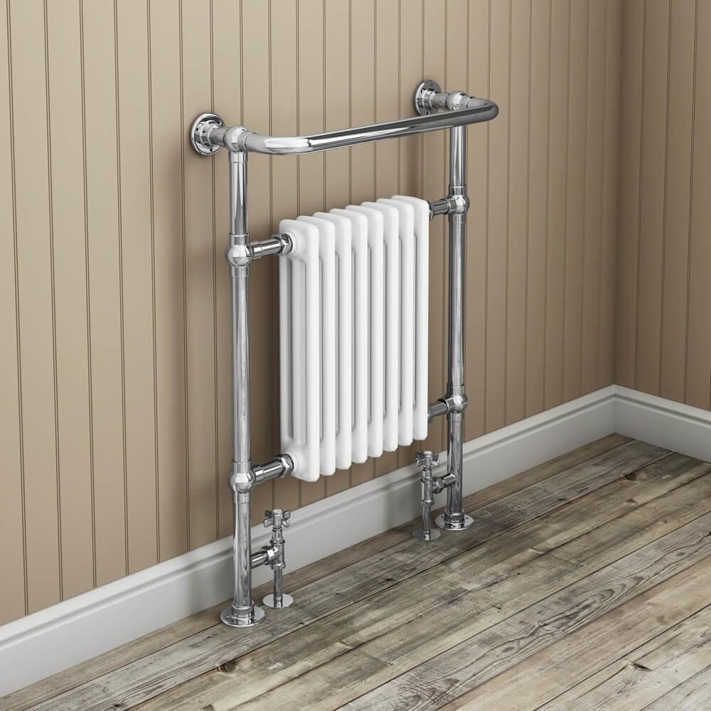 Savoy Traditional Heated Towel Rail | 7 Traditional Bathroom Ideas