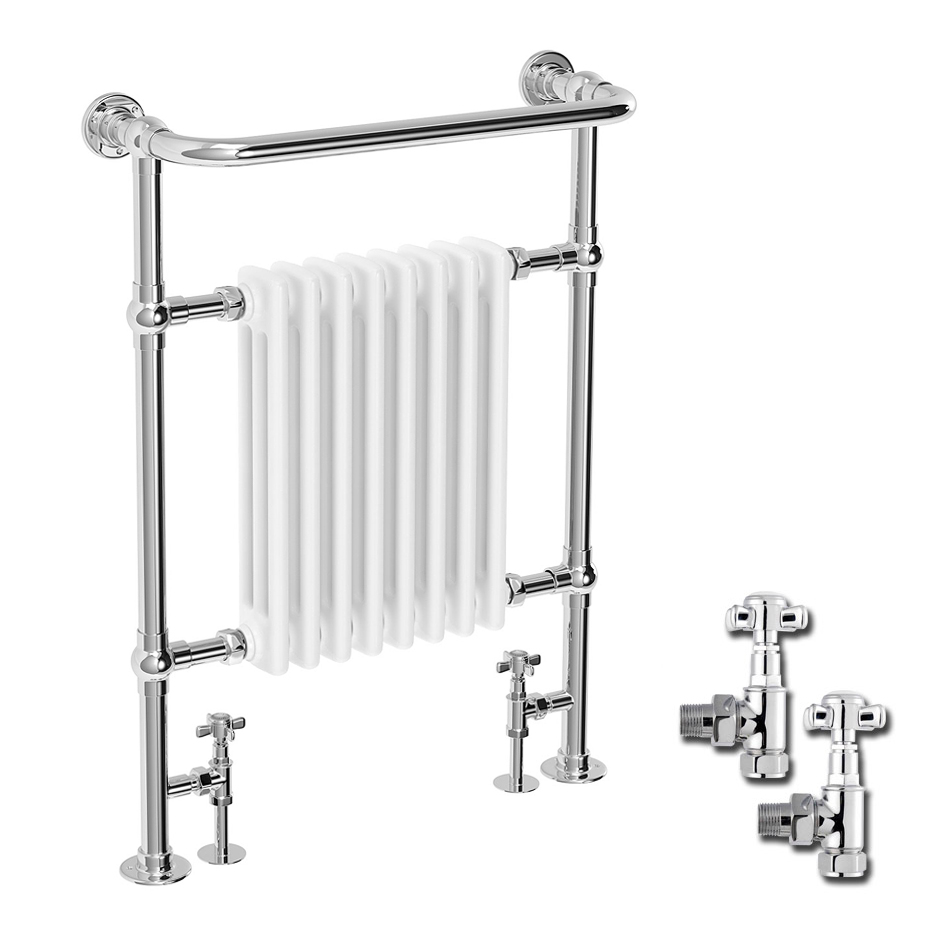 Savoy Traditional Radiator with Crosshead Valves Large Image