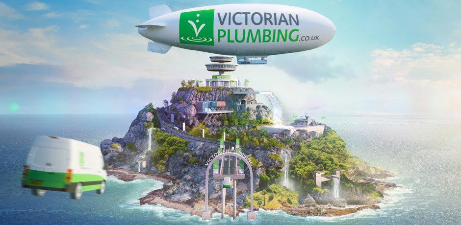 Victorian Plumbing island