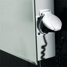 Illuminated Bathroom Mirrors From 6995 Shaving Socket
