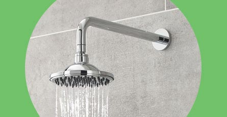 Shower Heads with Arms