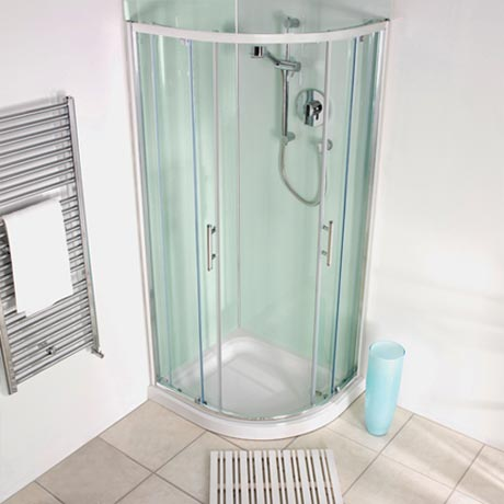 Showerwall - Waterproof Decorative Wall Panel - Aqua Ice - 4 Size Options