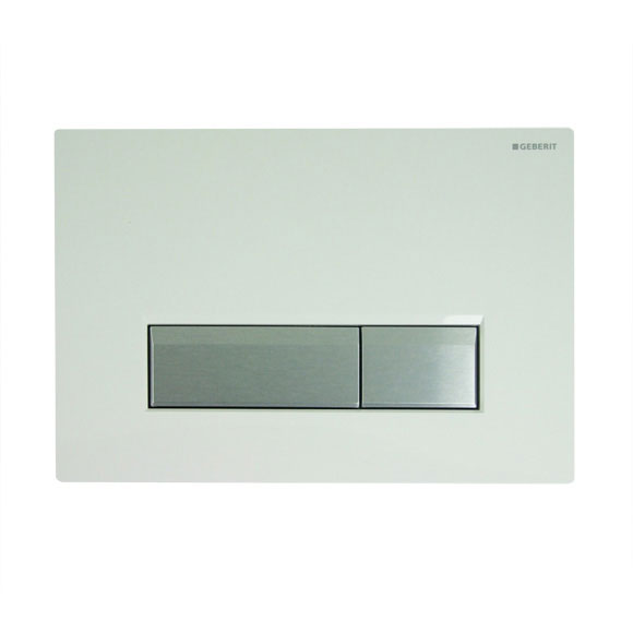 Geberit - DuoFresh Odour Extraction Flush Plate - Sigma40 - 5 colour options Large Image