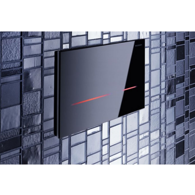 Geberit - Touchless Dual Flush for UP720 Cistern - Sigma80 profile large image view 2