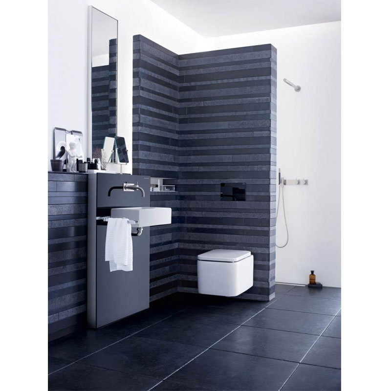 Geberit - Touchless Dual Flush for UP320 Cistern - Sigma80 profile large image view 4