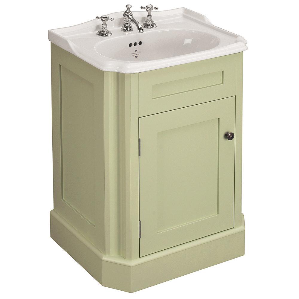 Silverdale Balasani 600mm Wide Vanity Cabinet - Artichoke Green Large Image