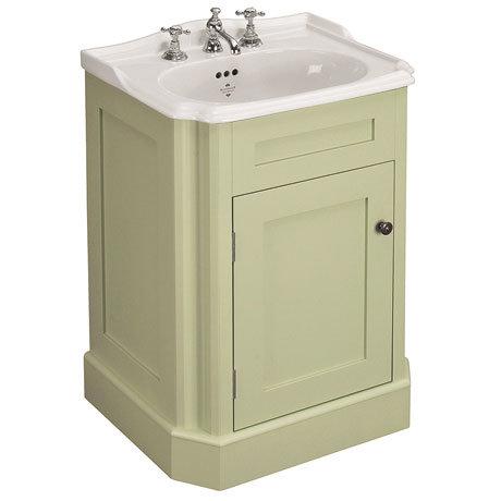 Silverdale Balasani 600mm Wide Vanity Cabinet - Artichoke Green