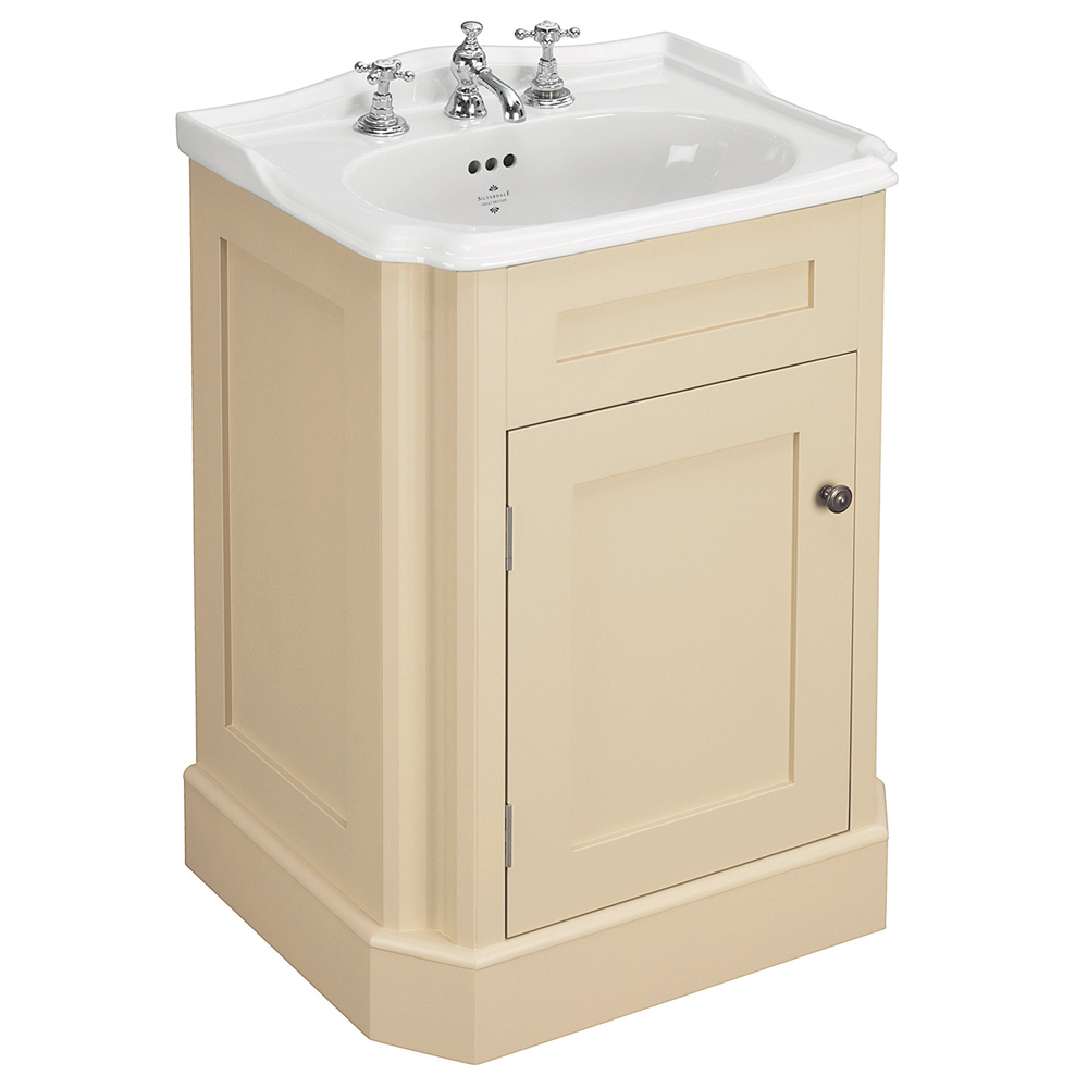 Silverdale Balasani 600mm Wide Vanity Cabinet - Latte Stone Large Image